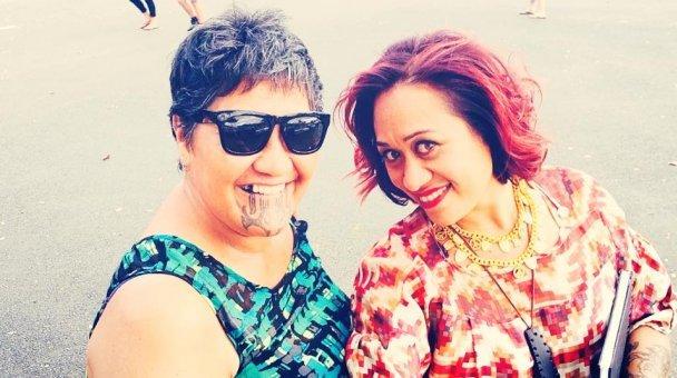 Selfie: Miss Kihi raua ko Kui